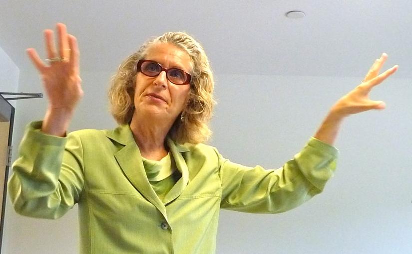 Simone Joyaux: always questioning, always challenging, alwaysthinking